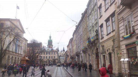 площадь рынок Львов