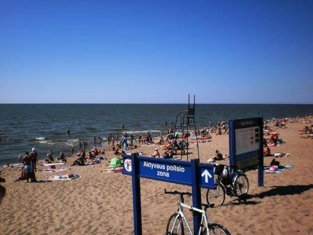 Пляжи Клайпеды: особенности и описание.