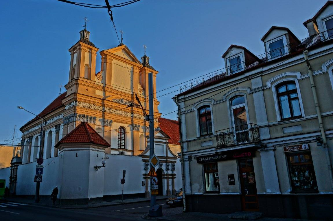 костел в Гродно