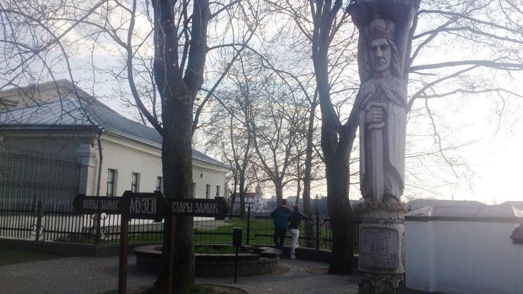 Статуя Великого князя Витовта, одного из самых ярких правителей в истории белорусской земли