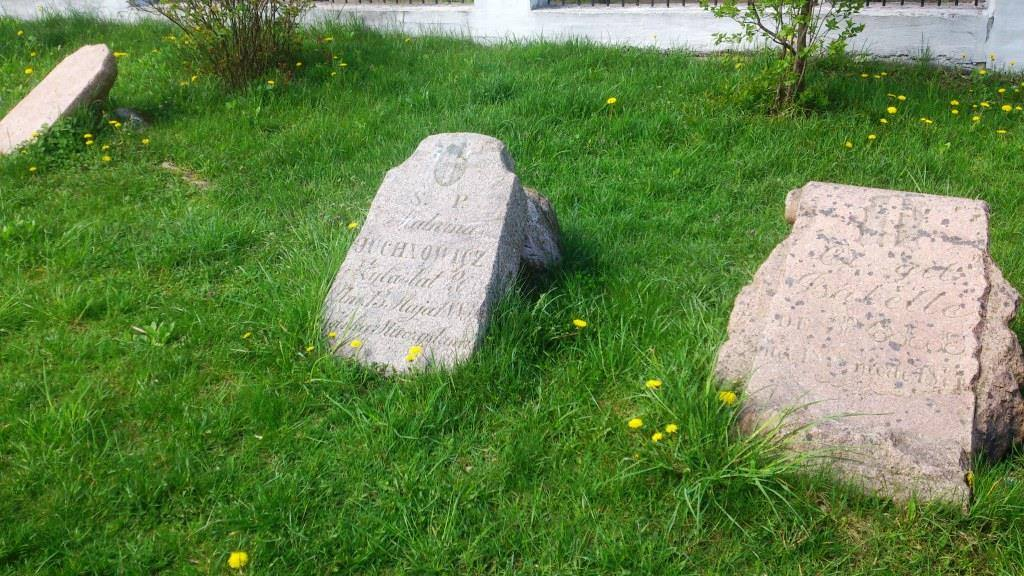 Остатки старого кладбища Костела св. Роха