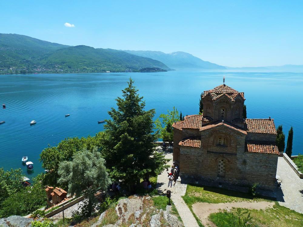 Озеро Охрид (фото www.franzina.it)