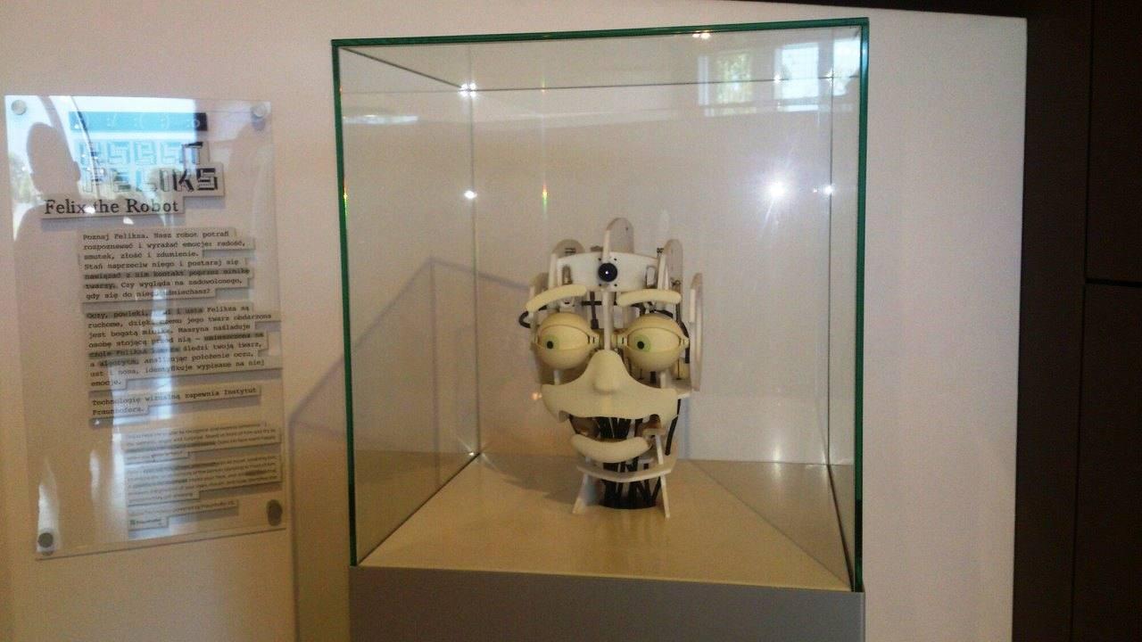 Робот, повторяющий человеческие эмоции
