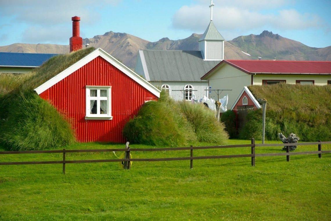 дома в исландии