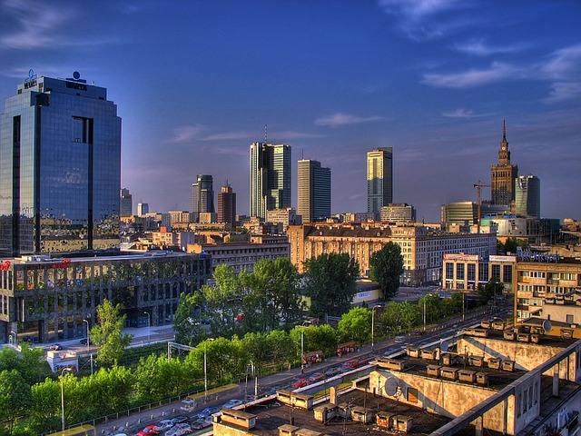 Варшава небоскребы