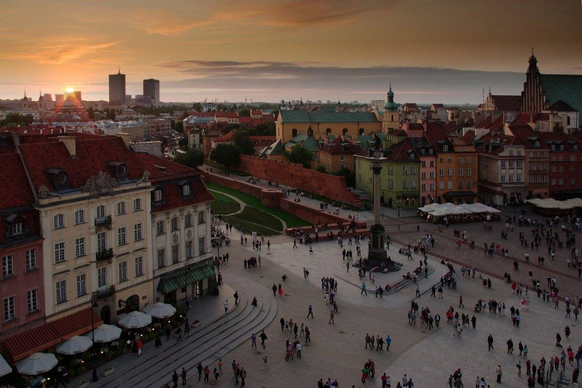 Варшава старый город