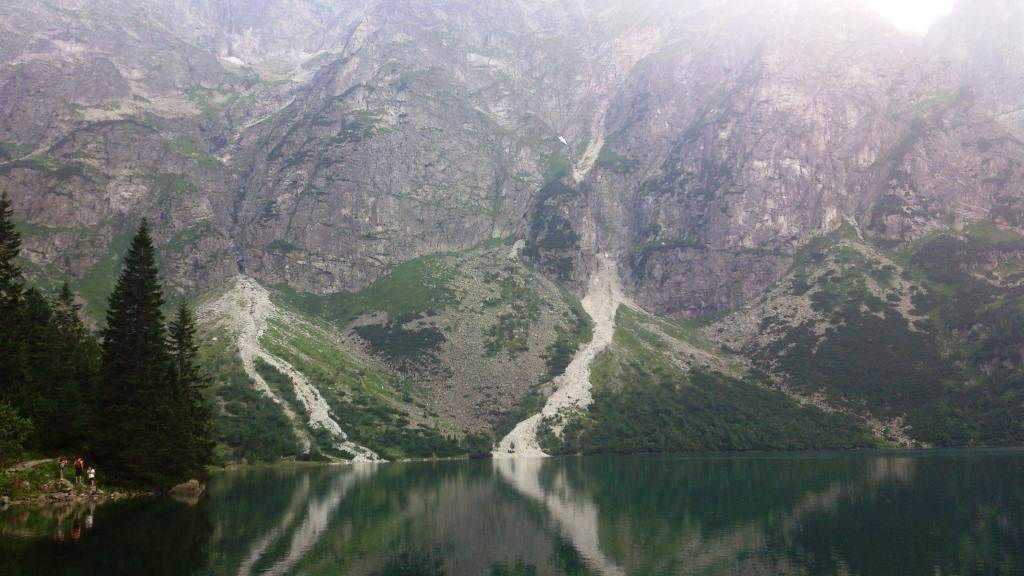горы у озера морское око польша