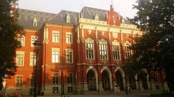 Ягеллонский университет. Одна из достопримечательностей города