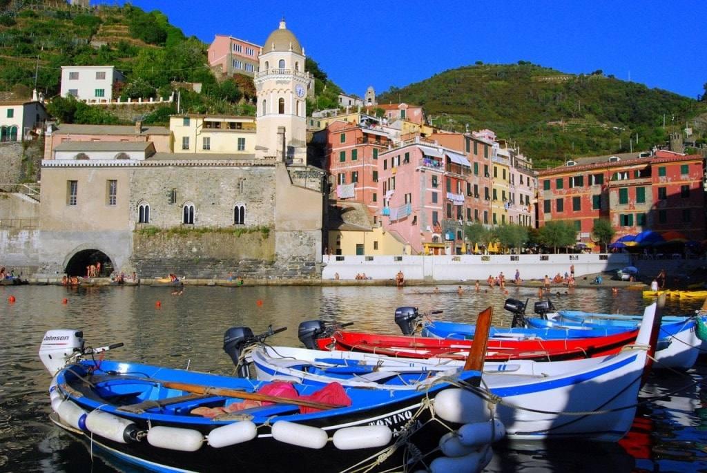 маршруты самостоятельного путешествия по Италии Чинкве Терре
