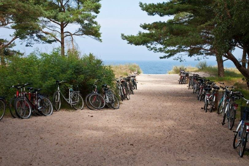 Клайпеда пляж у Балтийского моря