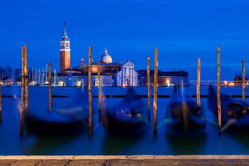 венеция Италия гандолы