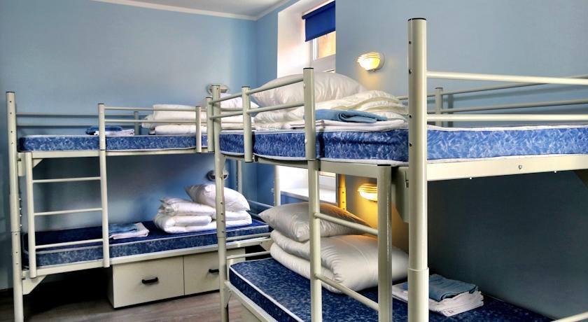 рижский хостел жилая комната