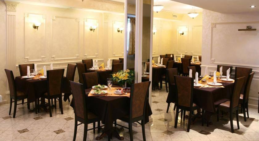 столовая рижского отеля