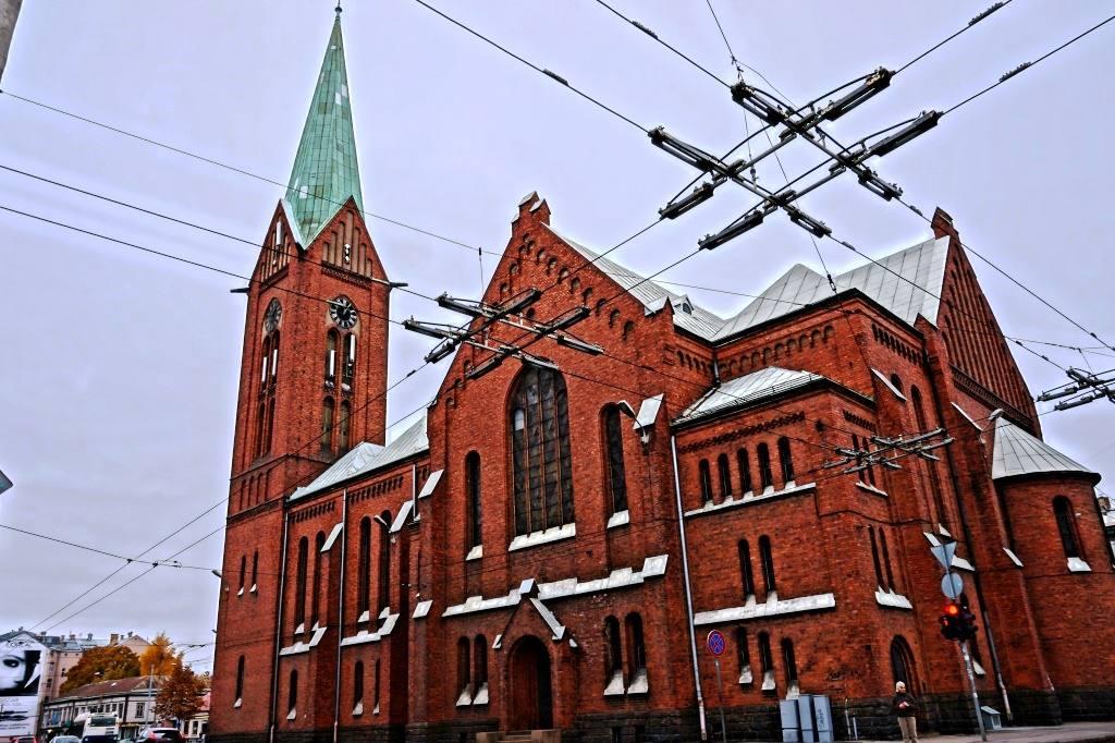 Церковь Гертруды в Риге