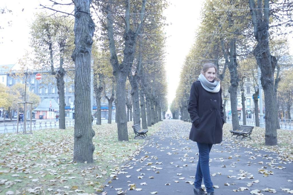 Таня в парке