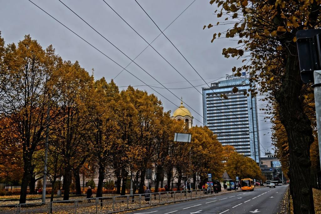 рига осенью