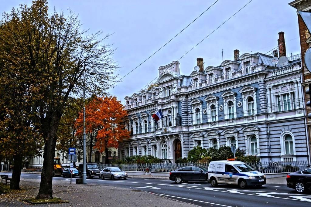 рижское здание в стиле арт-нуво