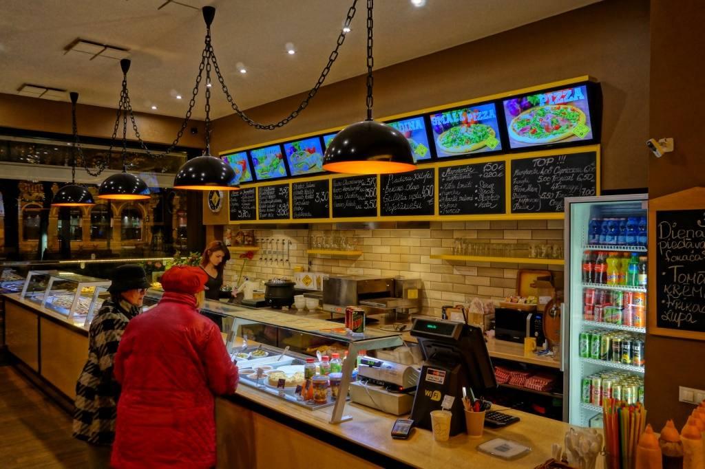кафе мини-пицца в Риге