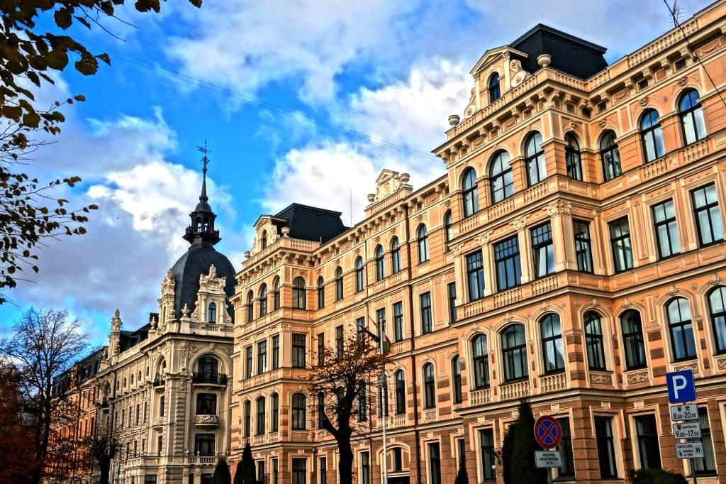 красивые здания в стиле арт-нуво