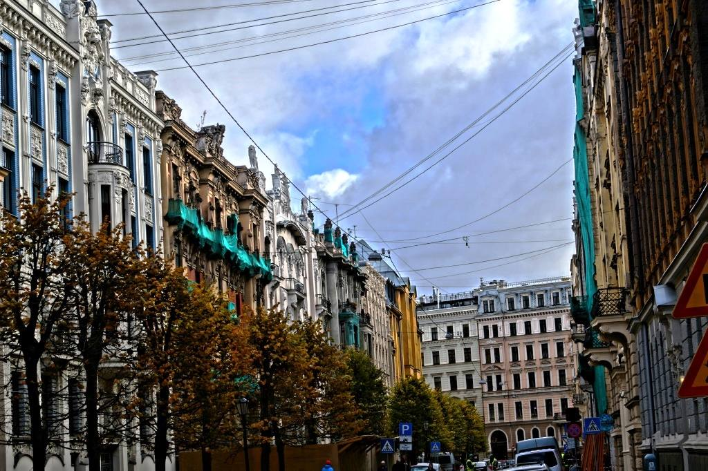 рижская улица модерн
