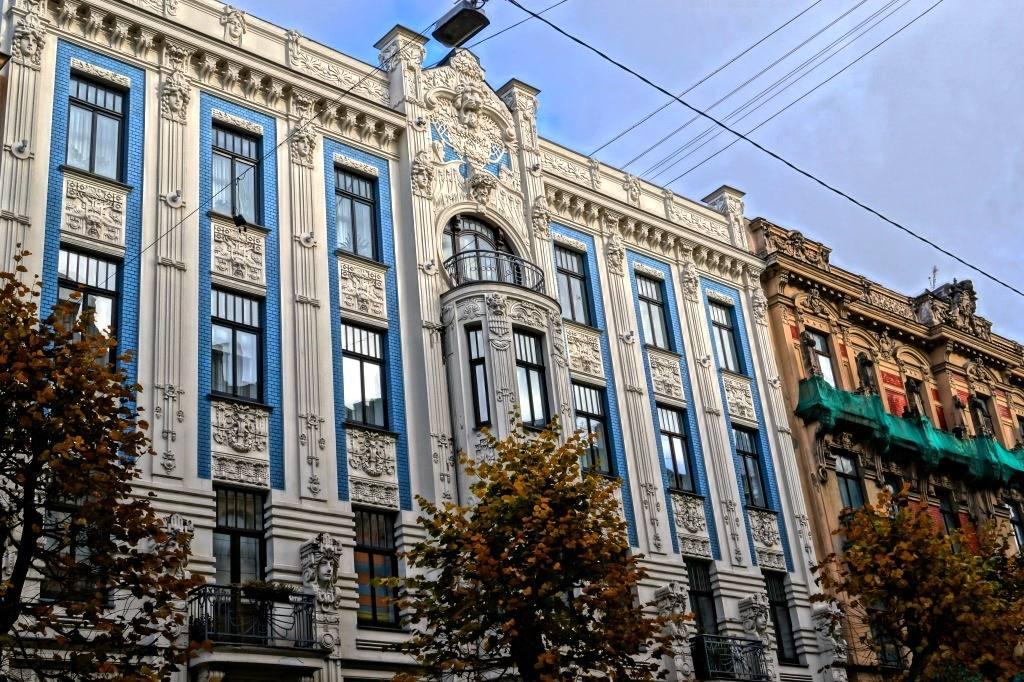 Рига архитектура в стиле модерн