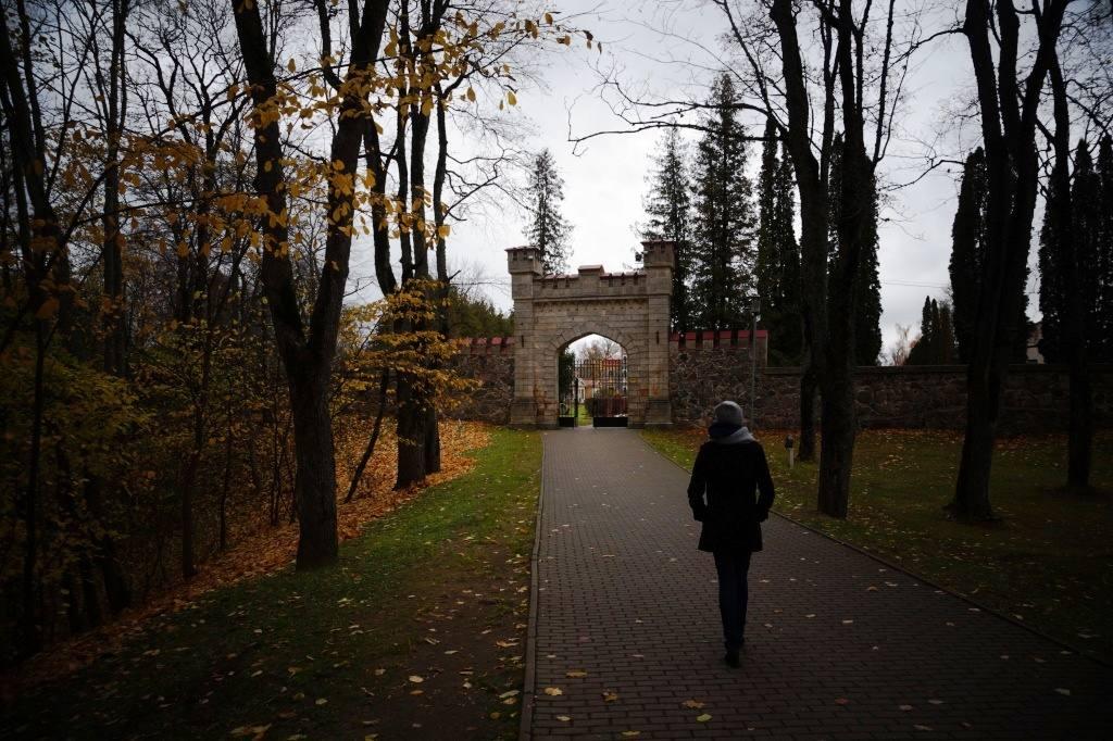 Дворец в городе Сигулда