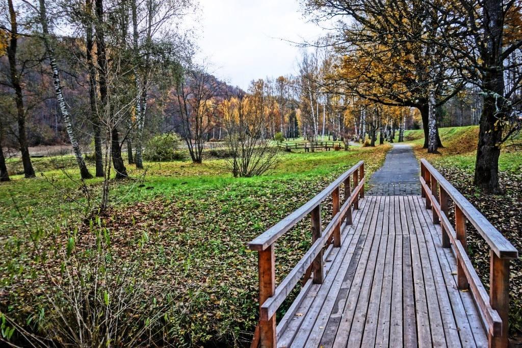 парк Гауя мост