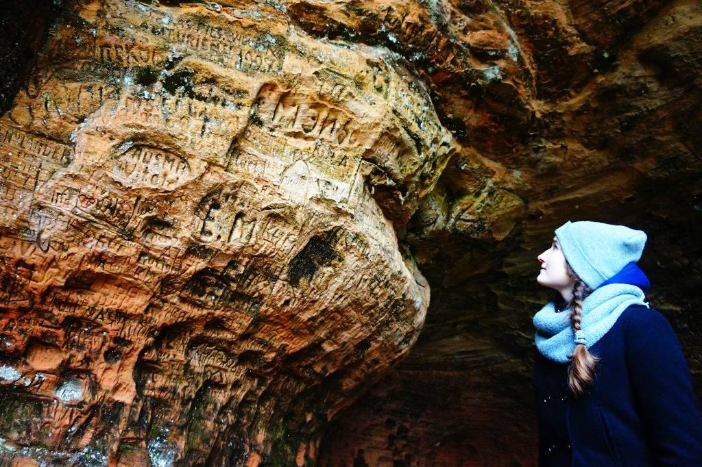 пещера Гутманя Латвия