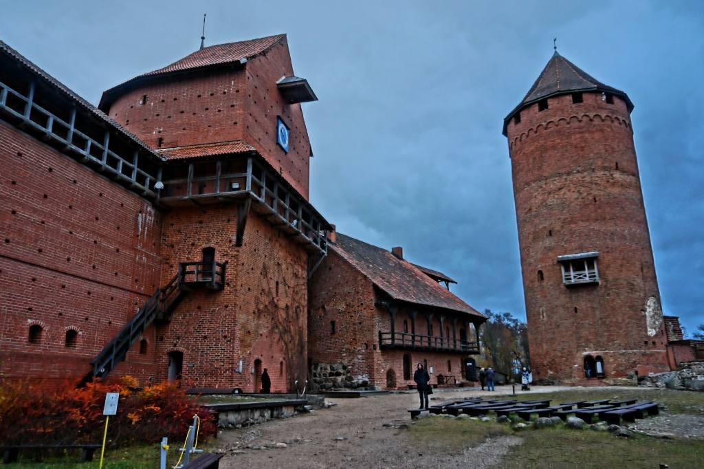 замок в Турайде
