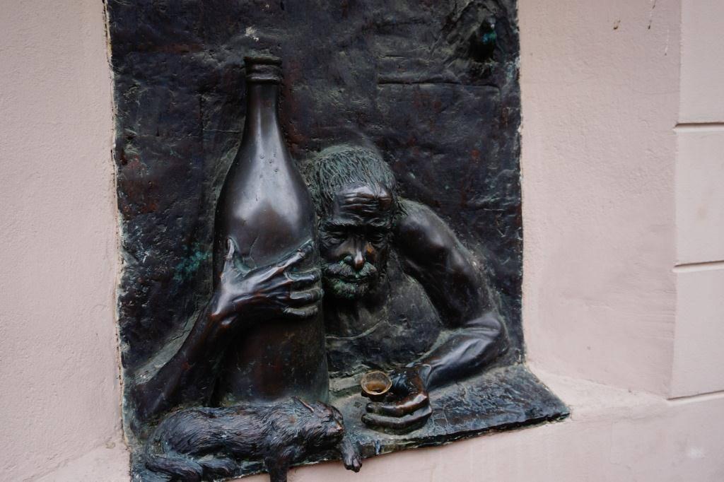 скульптура в ужуписе
