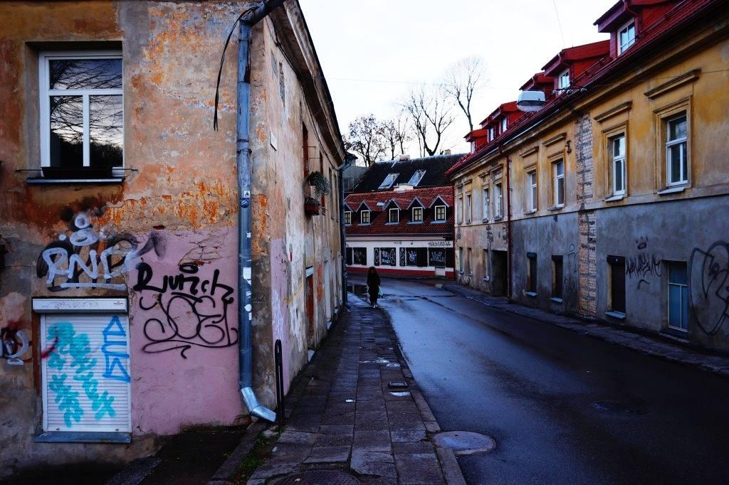 Ужупис Вильнюс Литва