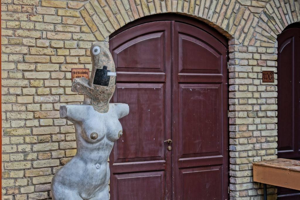 скульптура Ужупис
