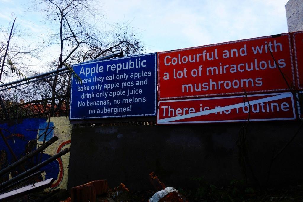 знак яблочная республика