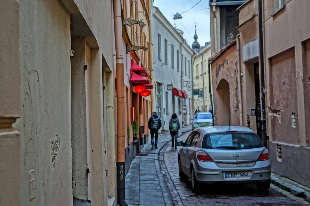 что посмотреть в Вильнюсе: узкие улочки города