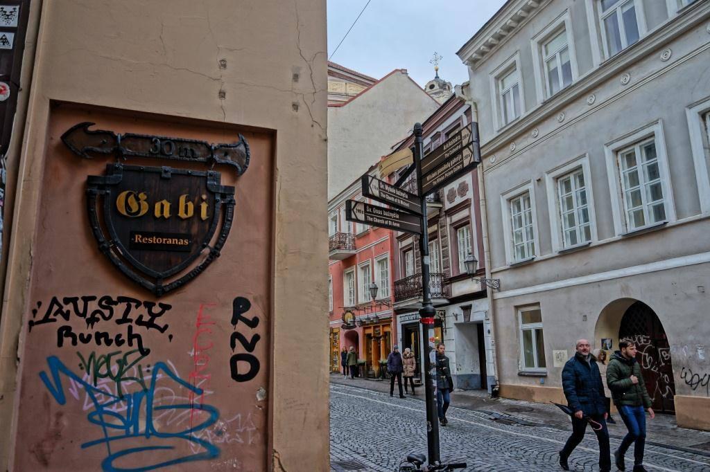 кафе Габи в Вильнюсе