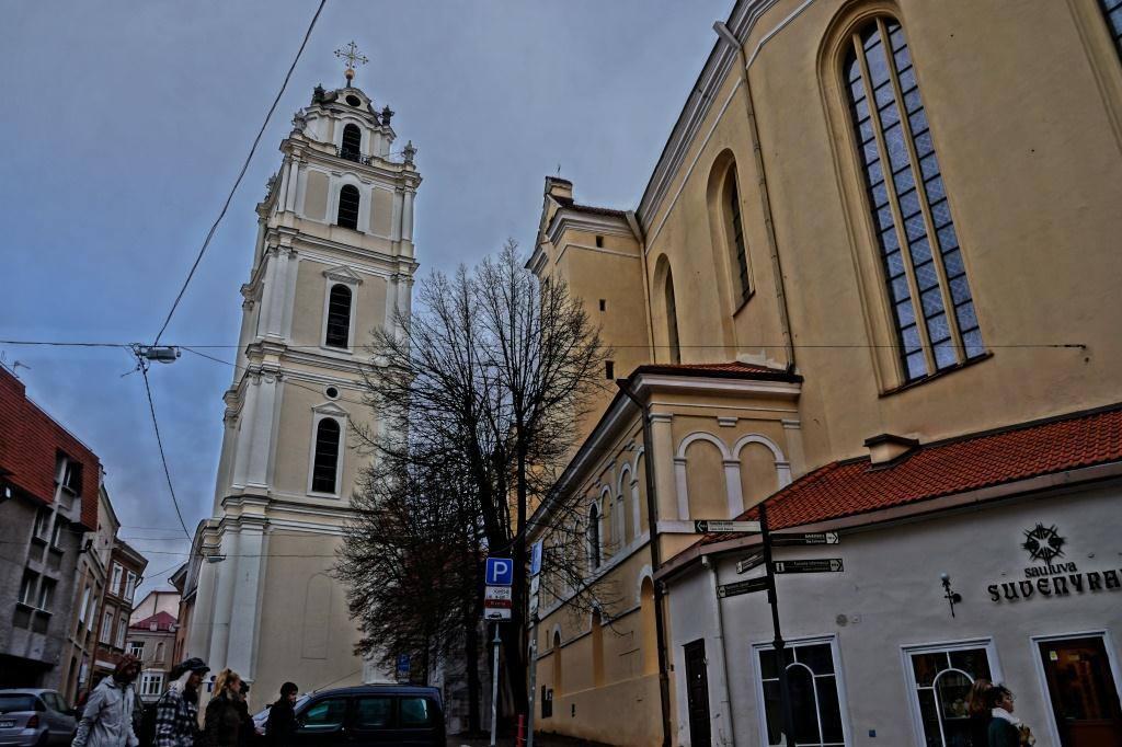 что посмотреть в Вильнюсе: костел