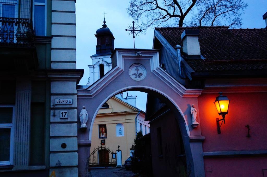 Арка и церковь