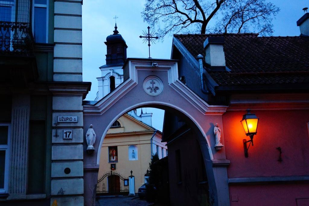 церковь в Ужписе