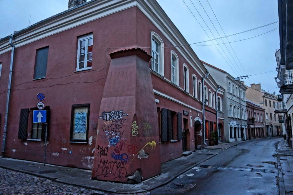 прогулка по Вильнюсу и его узким улицам