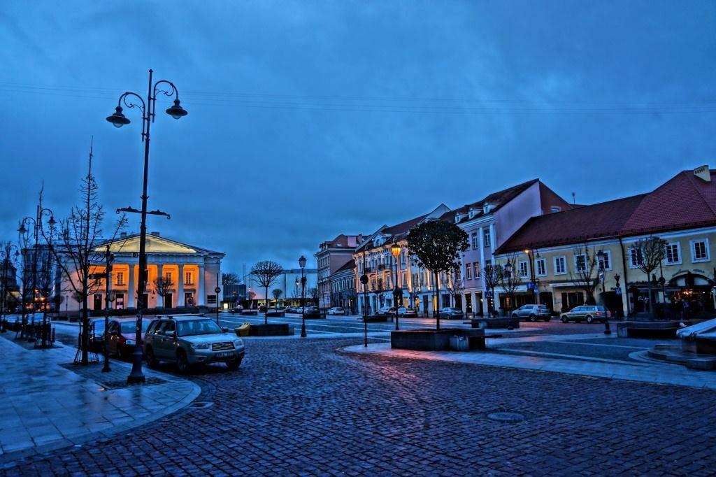 ноябрьское утро Вильнюс
