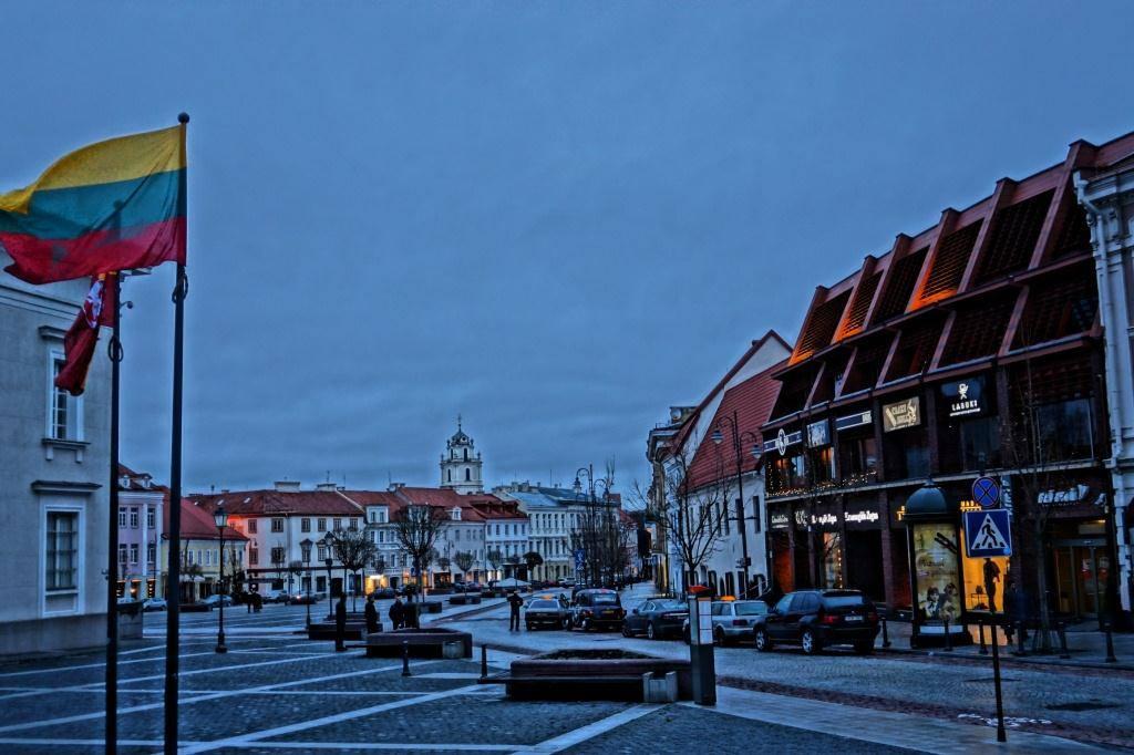 площадь в Вильнюсе