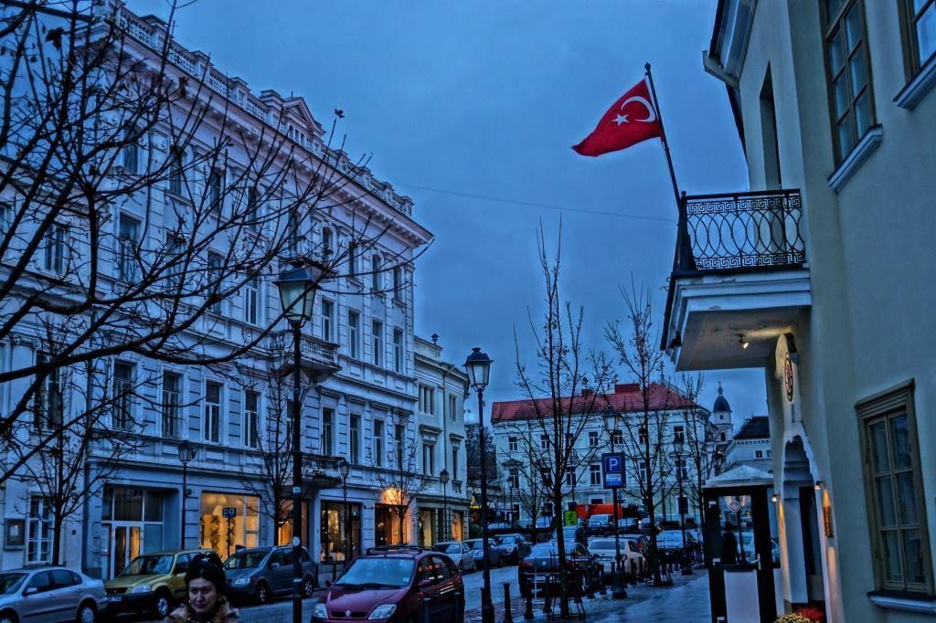 турецкий флаг в Литве