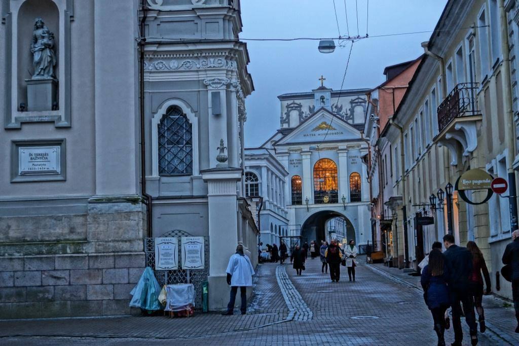 Что посмотреть в Вильнюсе: Ворота зари