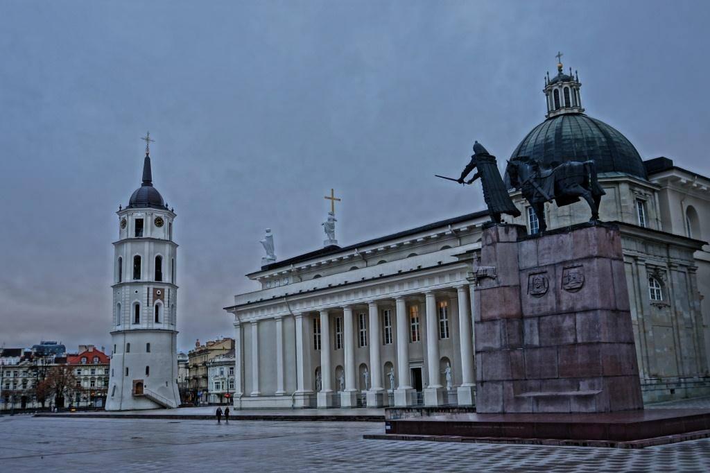 памятник Гедемину Вильнюс