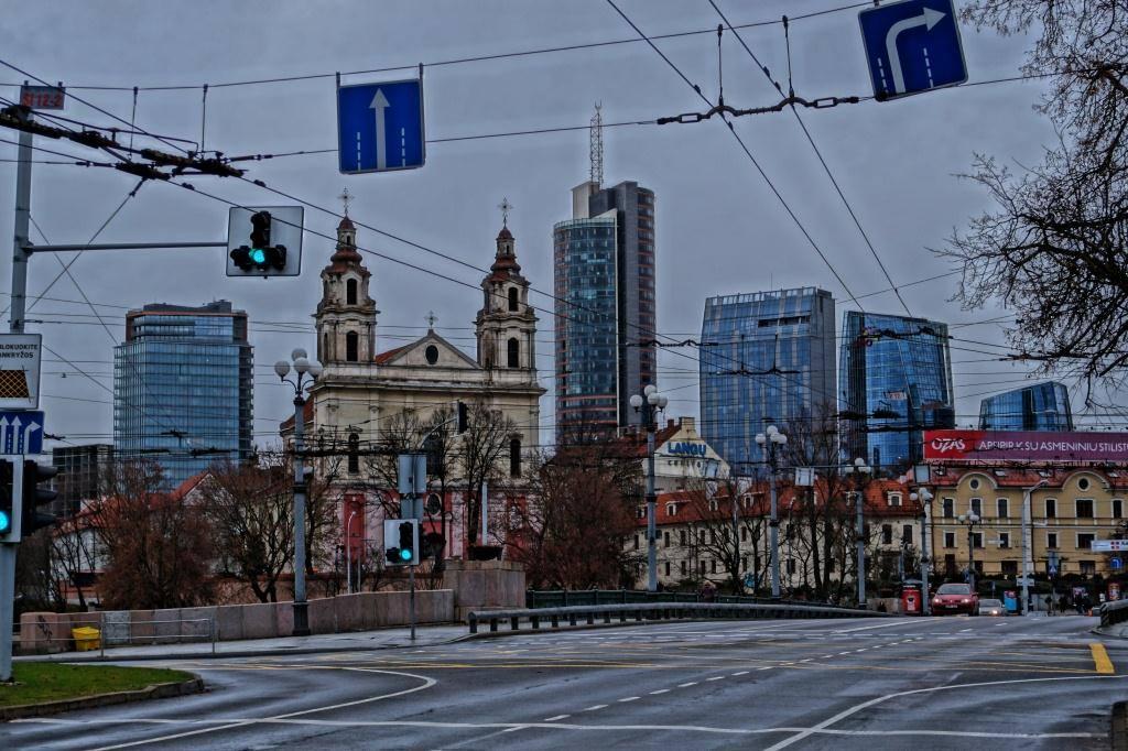 Вильнюс Сити, место которое нужно посмотреть