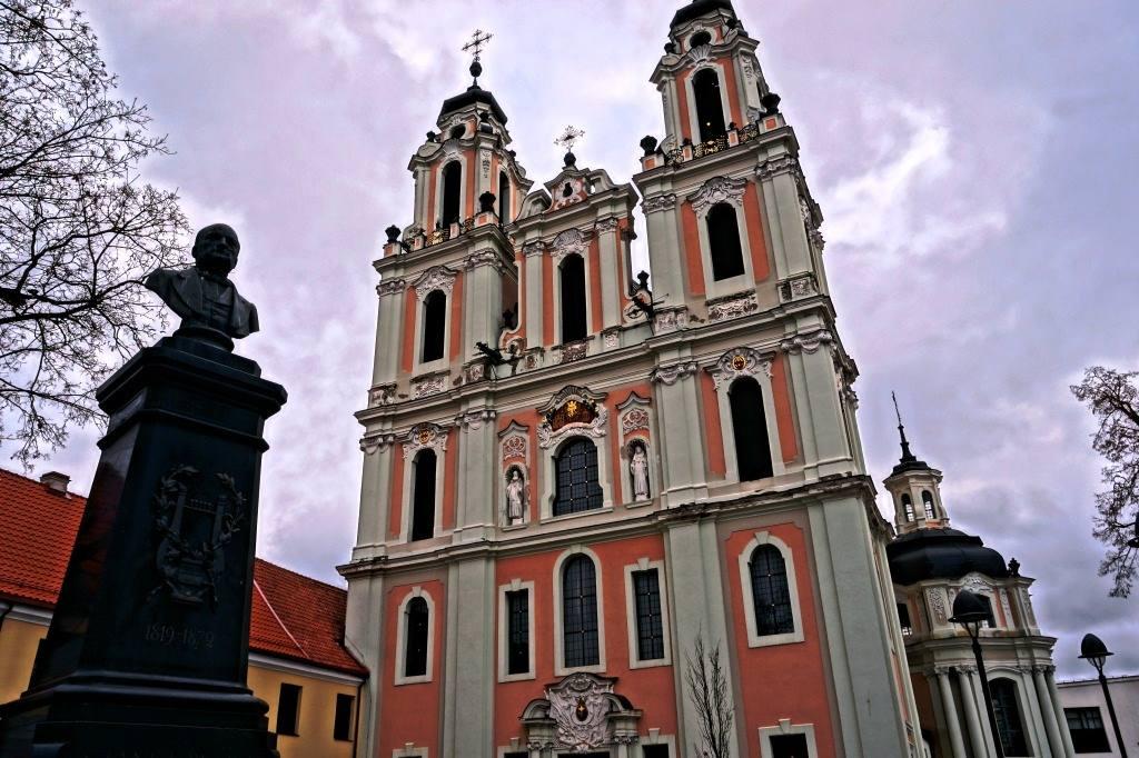 памятник Монюшко Вильнюс
