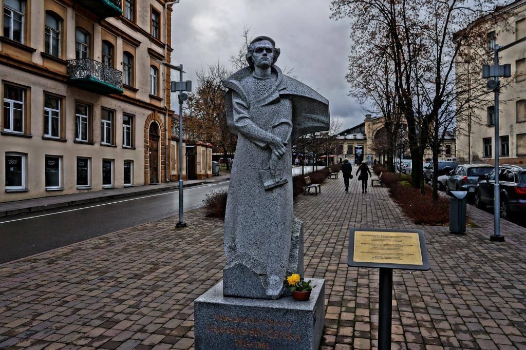 памятник Шевченко Вильнюс