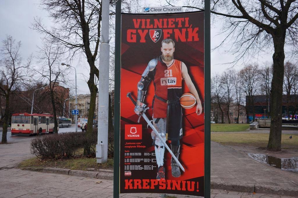 баскетбол в Литве