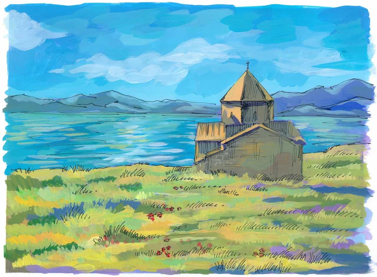 Армения Севан монастырь