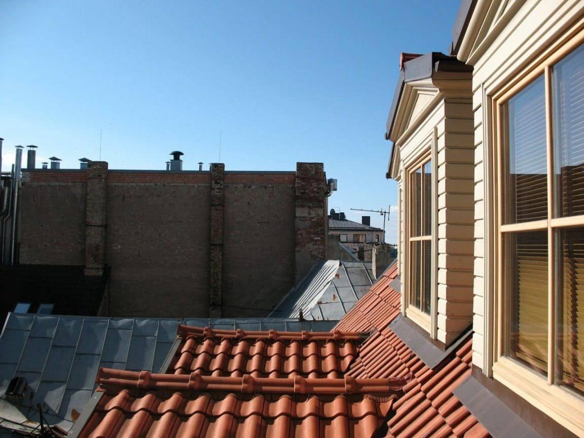крыши Риги